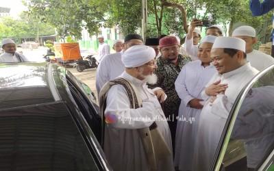 Pondok Pesantren Qotrun Nada Mendapatkan kunjungan Istimewa dari Kota Madinah - Arab Saudi